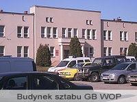 Budynek sztabu GB WOP w Gliwicach